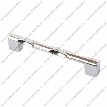 Ручка-скоба 128 мм хром 128-051 1