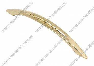 Ручка-скоба 128 мм золото S-2331 OT 1