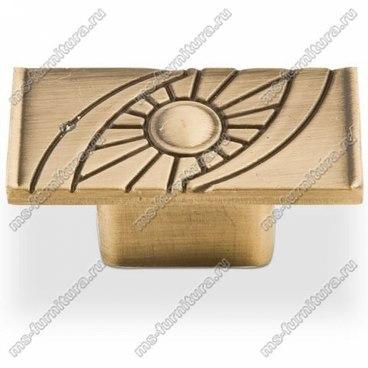 Ручка-кнопка античная бронза 16-013 1