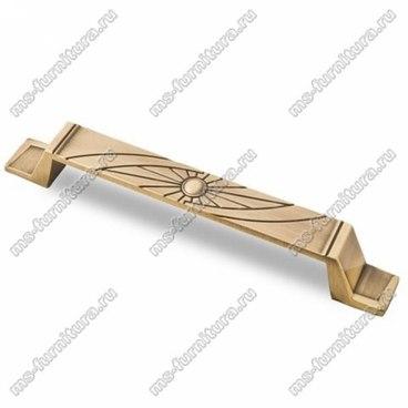Ручка-скоба 128 мм античная бронза 128-013 1