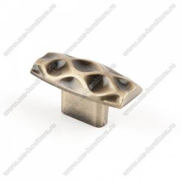 Ручка-кнопка античная бронза 16-038 1