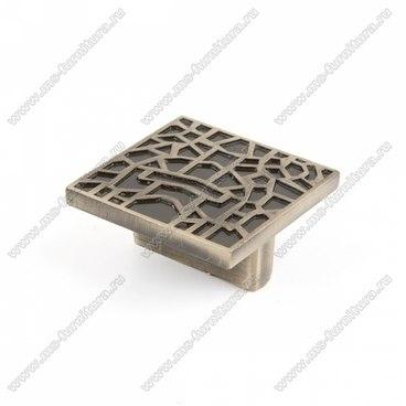 Ручка-кнопка античная бронза 16-039 1