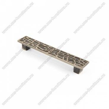 Ручка-скоба 96 мм античная бронза 96-039 1