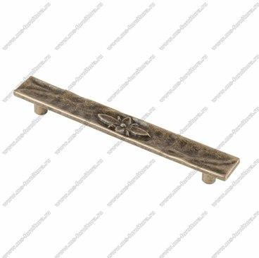 Ручка-скоба 128 мм оксидированная бронза 128-053 1