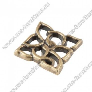 Ручка-кнопка оксидированная бронза 16-059 1