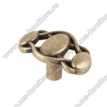 Ручка-кнопка оксидированная бронза 16-061 1