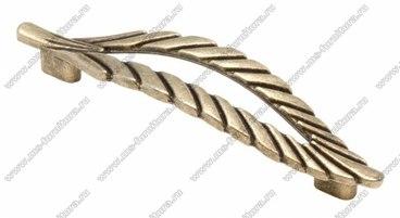 Ручка-скоба 128 мм оксидированная бронза 128-065 1