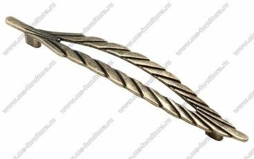 Ручка-скоба 160 мм оксидированная бронза 160-065 1