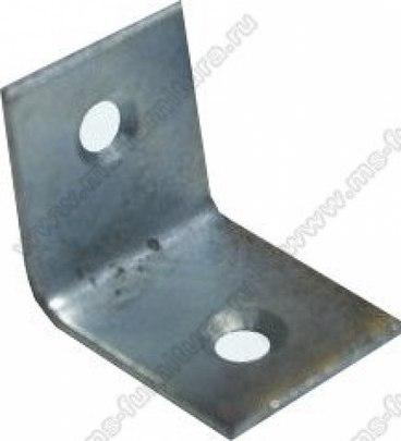 Уголок мебельный металл 25х25х20, 2 отв 1
