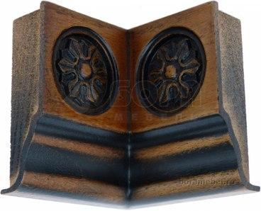 Накладка на фриз нижний внутренный угол 90 градусов 1