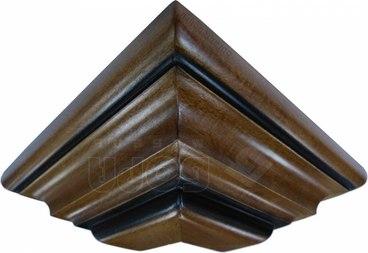 Накладка на фриз верхний фигурный наружный угол 1