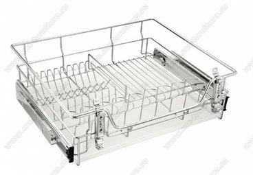 Сушка для посуды выкатная 800 мм (720x170х450) 1