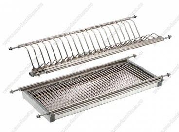 Сушка для посуды из нержавеющей стали 900 мм 1
