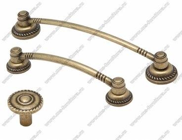 Ручка 128 мм оксидированная бронза 128-071 1