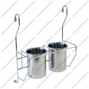 Навесные 2 стакана для столовых приборов MX-425 1