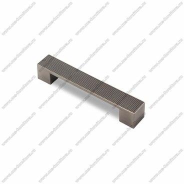 Ручка-скоба 128 мм атласное серебро EL-7020-128 Oi 1
