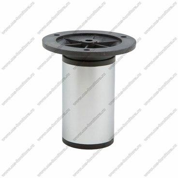 Опора регулируемая 100 мм матовый хром 1