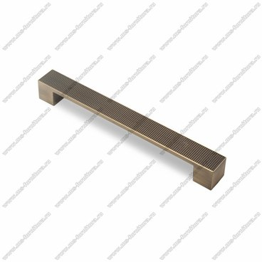 Ручка-скоба 192 мм атласная бронза EL-7020-192 MAB 1
