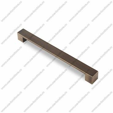 Ручка-скоба 224 мм атласная бронза EL-7020-224 MAB 1