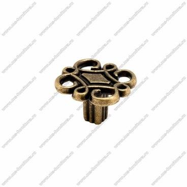 Ручка-кнопка оксидированная бронза RK-078 OAB 1