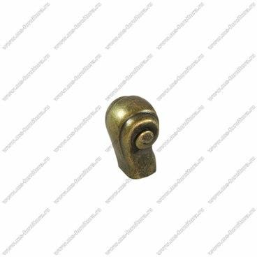 Ручка-кнопка оксидированная бронза RK-079 OAB 1