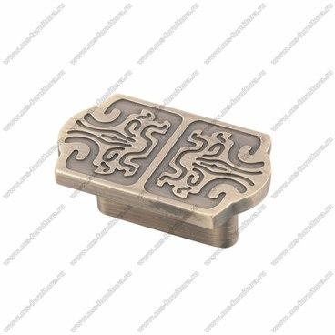 Ручка-кнопка атласная бронза EL-7050 MAB 1