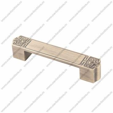 Ручка-скоба 128 мм атласная бронза EL-7050-128 MAB 1
