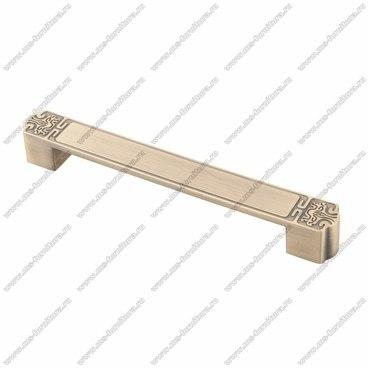 Ручка-скоба 192 мм атласная бронза EL-7050-192 MAB 1