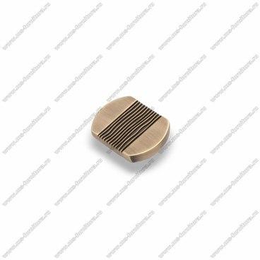 Ручка-кнопка атласная бронза EL-7040 MAB 1