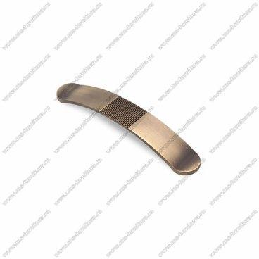Ручка-скоба 128 мм атласная бронза EL-7040-128 MAB 1