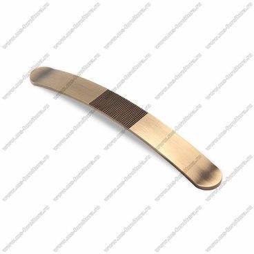Ручка-скоба 224 мм атласная бронза EL-7040-224 MAB 1