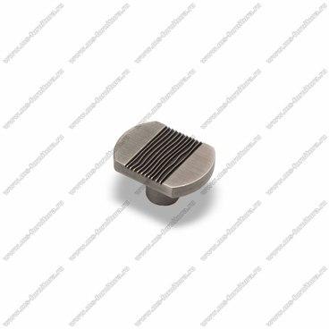 Ручка-кнопка атласное серебро EL-7040 Oi 1