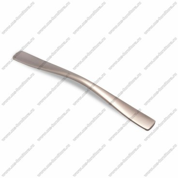 Ручка-скоба 224 мм атласное серебро EL-7070-224 Oi 1