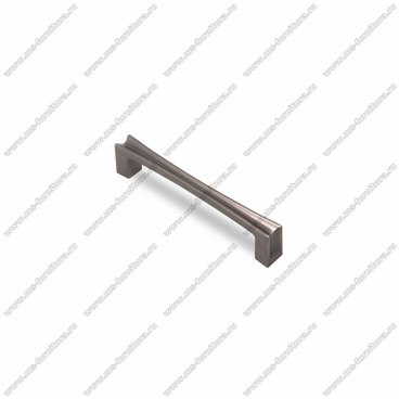 Ручка-скоба 128 мм атласное серебро EL-7080-128 Oi 1