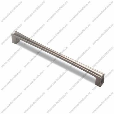 Ручка-скоба 192 мм атласное серебро EL-7080-192 Oi 1