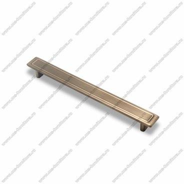 Ручка-скоба 192 мм атласная бронза EL-7100-192 MAB 1