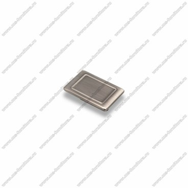 Ручка-кнопка атласное серебро EL-7100-32 Oi 1