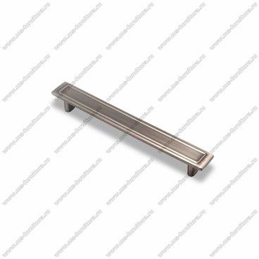 Ручка-скоба 160 мм атласное серебро EL-7100-160 Oi 1