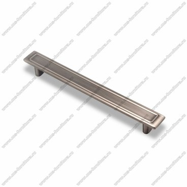 Ручка-скоба 224 мм атласное серебро EL-7100-224 Oi 1