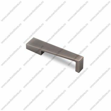 Ручка-скоба 96 мм атласное серебро EL-7110-96 Oi 1