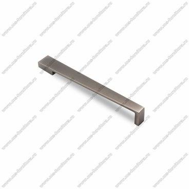 Ручка-скоба 128 мм атласное серебро EL-7110-128 Oi 1