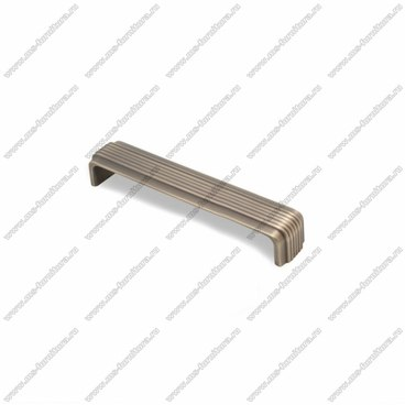 Ручка-скоба 160 мм атласная бронза EL-7120-160 MAB 1