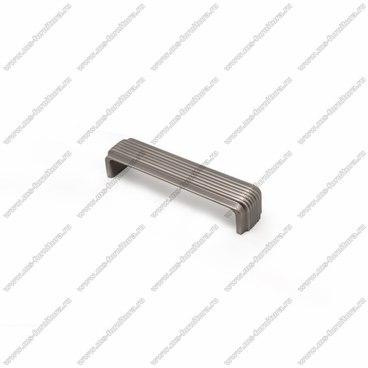 Ручка-скоба 128 мм атласное серебро EL-7120-128 Oi 1