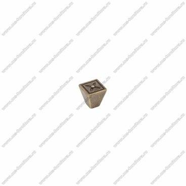 Ручка-кнопка оксидированная бронза RK-082 OAB 1