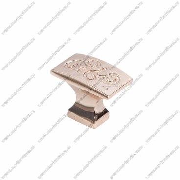 Ручка-кнопка розовое золото RK-092 RG 1