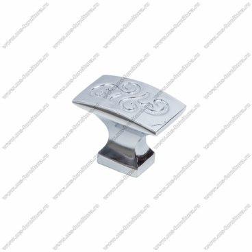 Ручка-кнопка хром RK-092 1