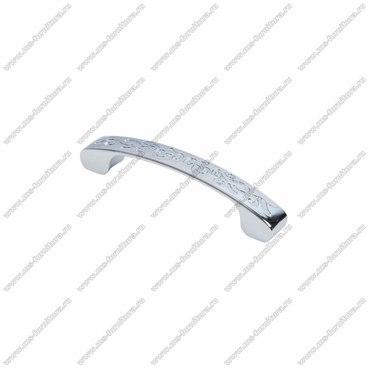 Ручка-скоба 96 мм хром RS-092-96 1
