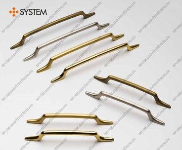 Ручка-скоба 160 мм SY4520 0160 CR 1