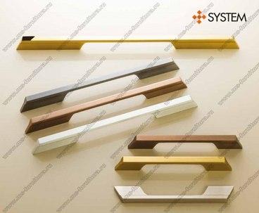 Ручка-скоба 160 мм хром SY8630 0160 CR 1