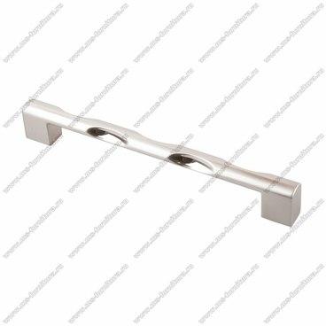 Ручка-скоба 160 мм атласный никель EL-7060-160 BSN 1